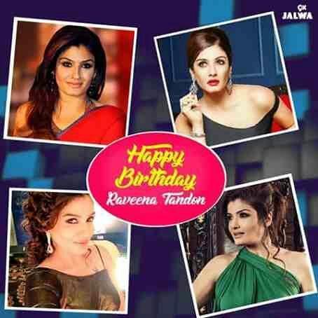 Happy Birthday Raveena Tandon.