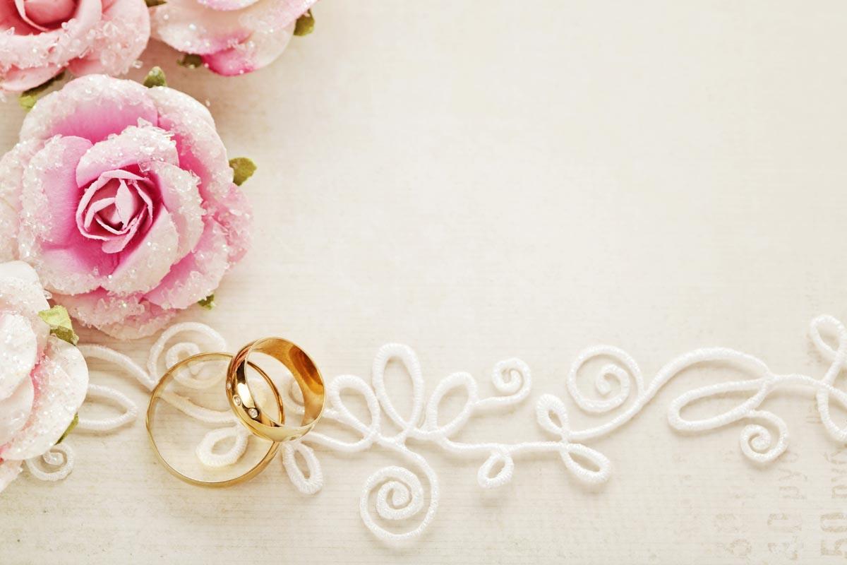 Фон для открытки с днем бракосочетания