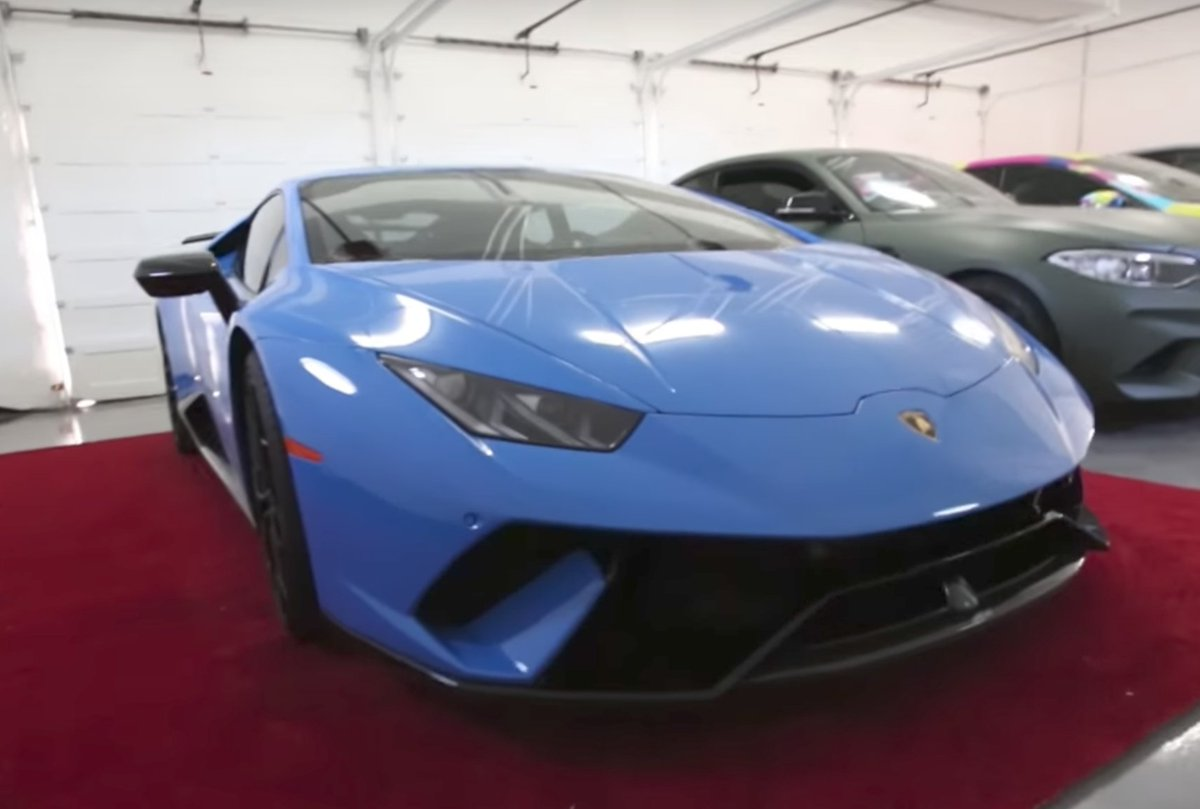 Jake Paul On Twitter Got A Lambo New Vlog Is Up