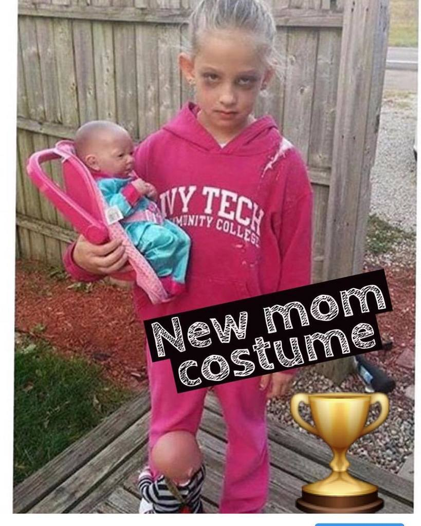 """kids are the worst on twitter: """"some costumes are too real. send me"""