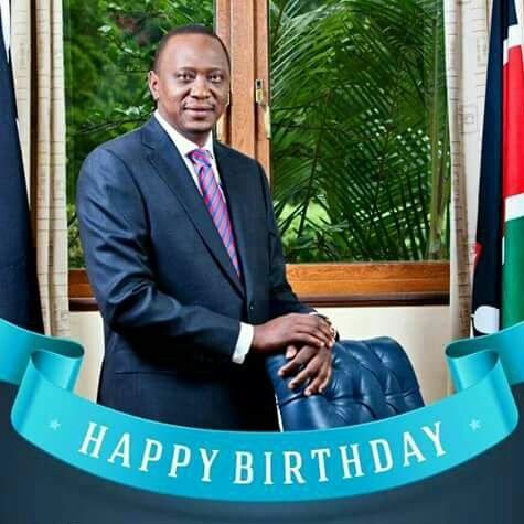 Rift news would like to wish President Uhuru Kenyatta a Happy Birthday