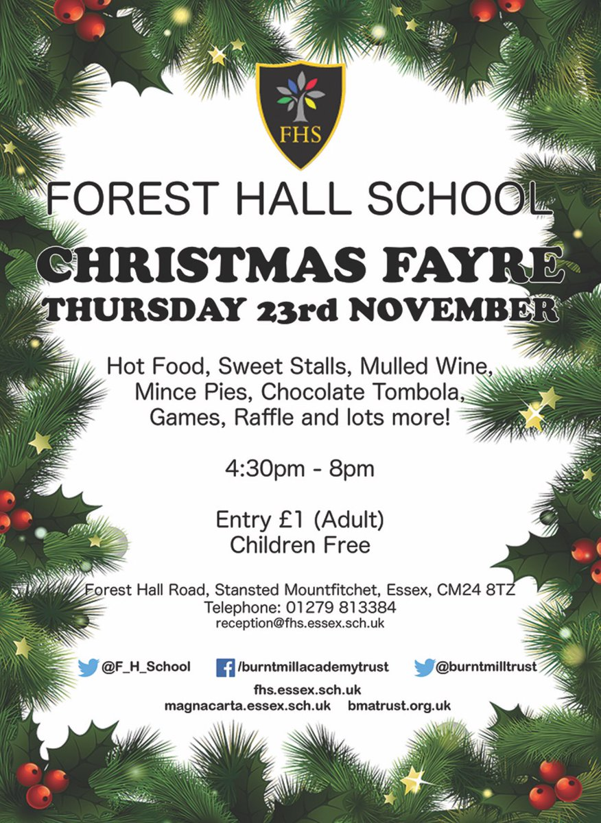 Forest Hall School on Twitter: \