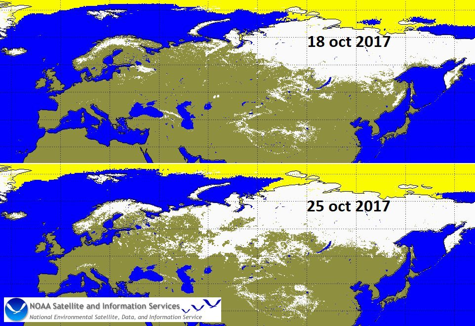 Snow Cover Map Europe.Weather Meteo World على تويتر Huge Increase In Ice And Snow Cover