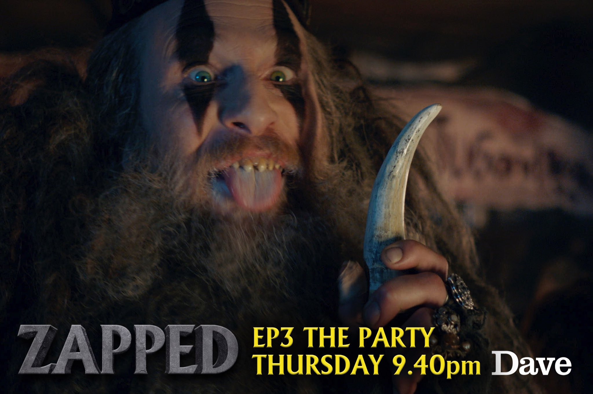 Check out my brother Paul in zapped tonight x x x https://t.co/eOkIMFCaH0