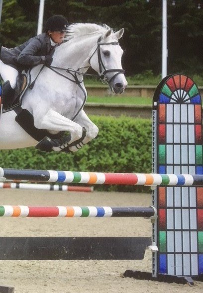 Image result for Lorna Simpson showjumper
