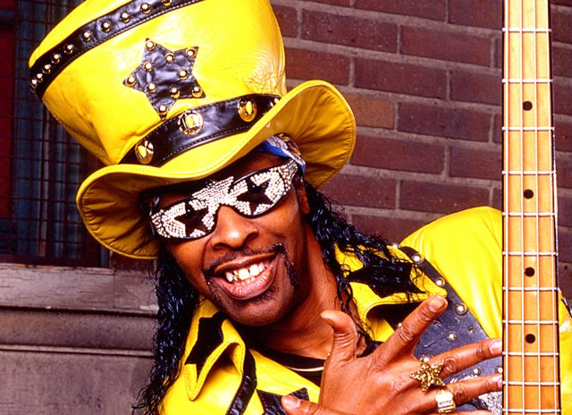 Happy Birthday Bootsy Collins