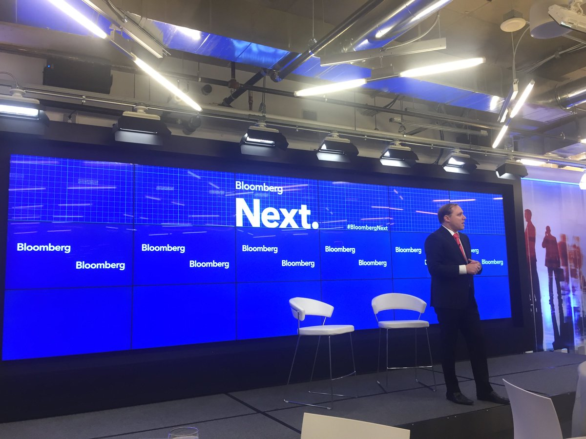 .@DAlperovitch delivering the keynote at #BloombergNext #cyber in the age of #ransomware @Bloomberg<br>http://pic.twitter.com/4r6hAYgU1m