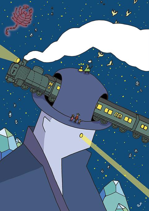 銀河鉄道の夜のtwitterイラスト検索結果古い順