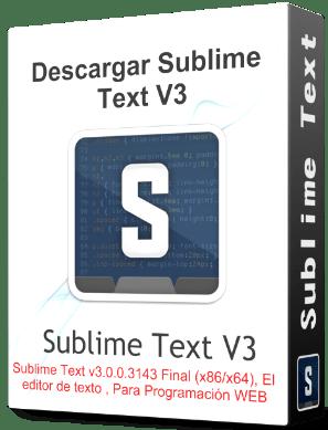 descargar sublime text 3 full español 32 bits