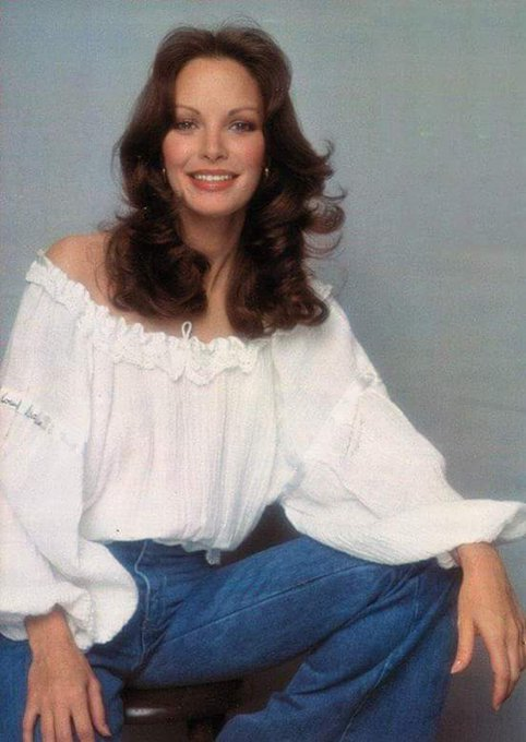 "Happy 71st birthday to Jaclyn Smith.  My fave ""Angel.\"""