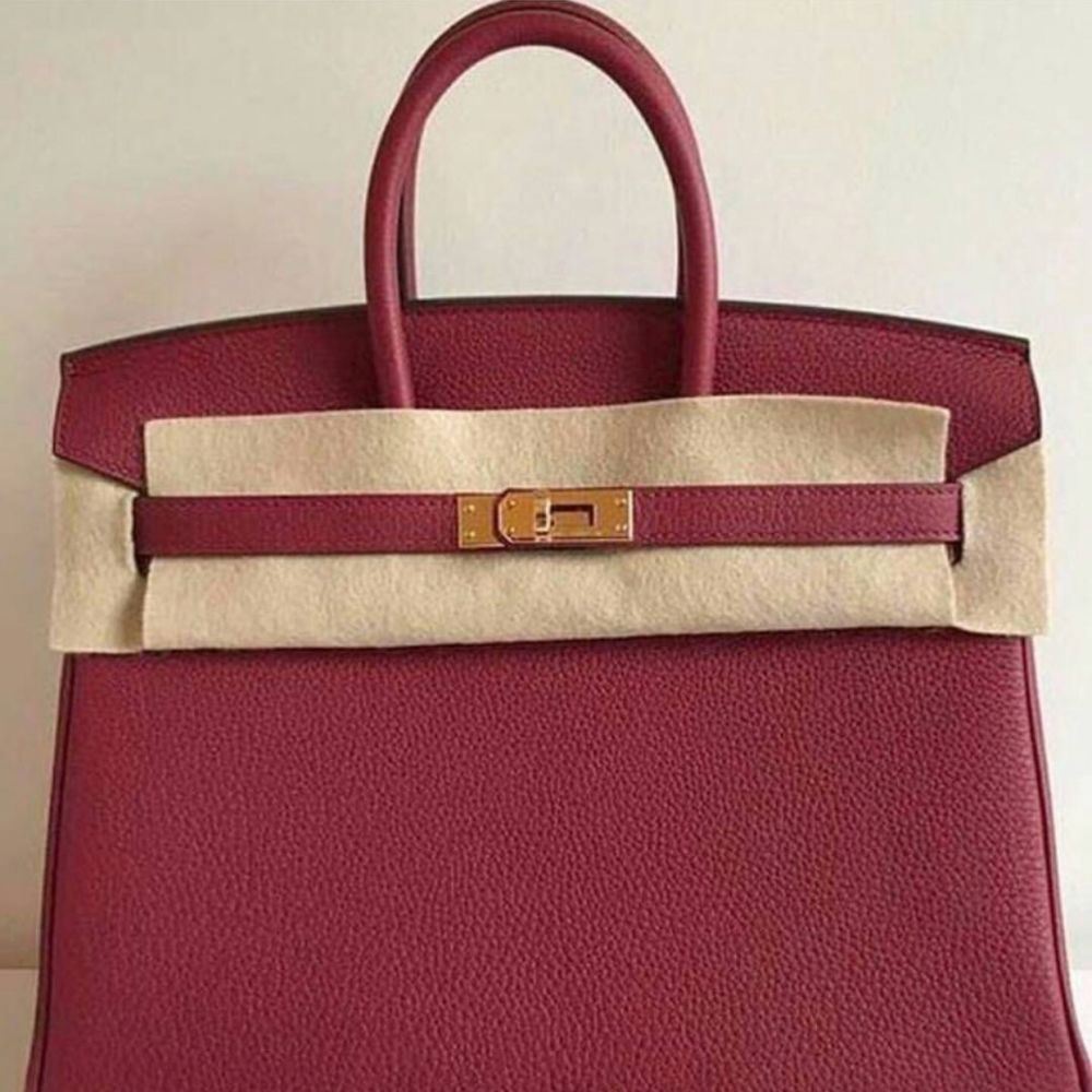6aa8281c8ce ... coupon code the french hunter on twitter birkin 25 rouge grenat togo  ghw hermes birkin kelly