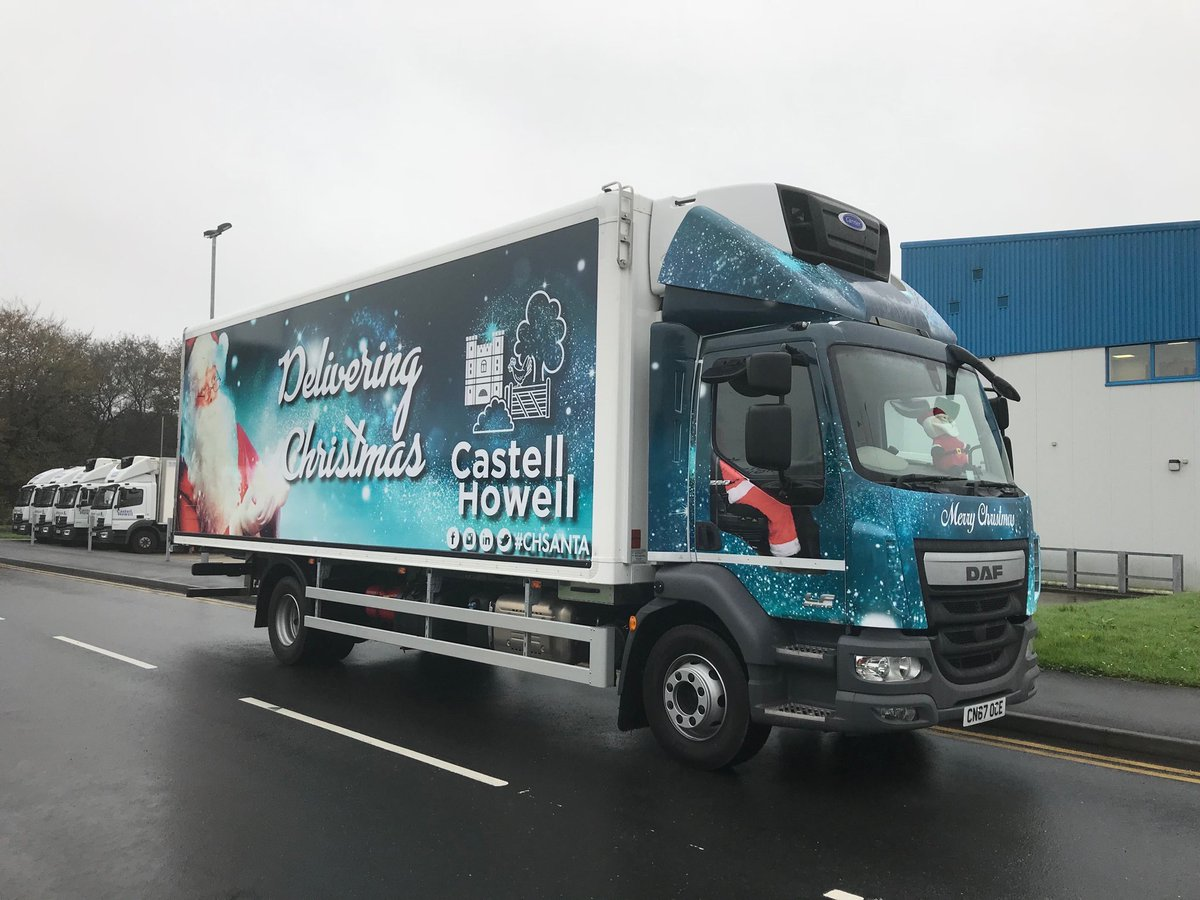 "Castell Howell Foods on Twitter: ""Ho Ho Ho! #CHSANTA will be hitting the roads tomorrow. Delivering #Christmas to a town near you 🎅… """
