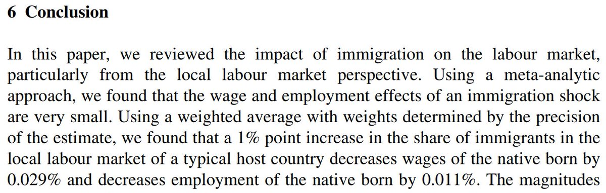 analysis of impact of immigration on The impact of immigration and immigration reform • economic analysis on the impact of immigration on wages: a careful review shows that high.