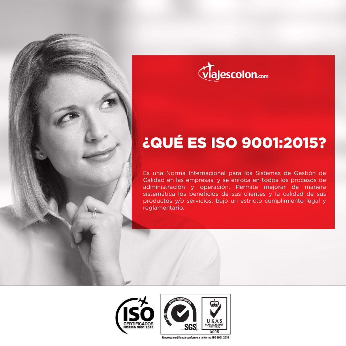 Logramos certificarnos bajo la Norma Internacional ISO 9001:2015, ¿Les gustaría saber qué es?  #LoLogramos 🙌🏻 https://t.co/kLMKIoLMVb