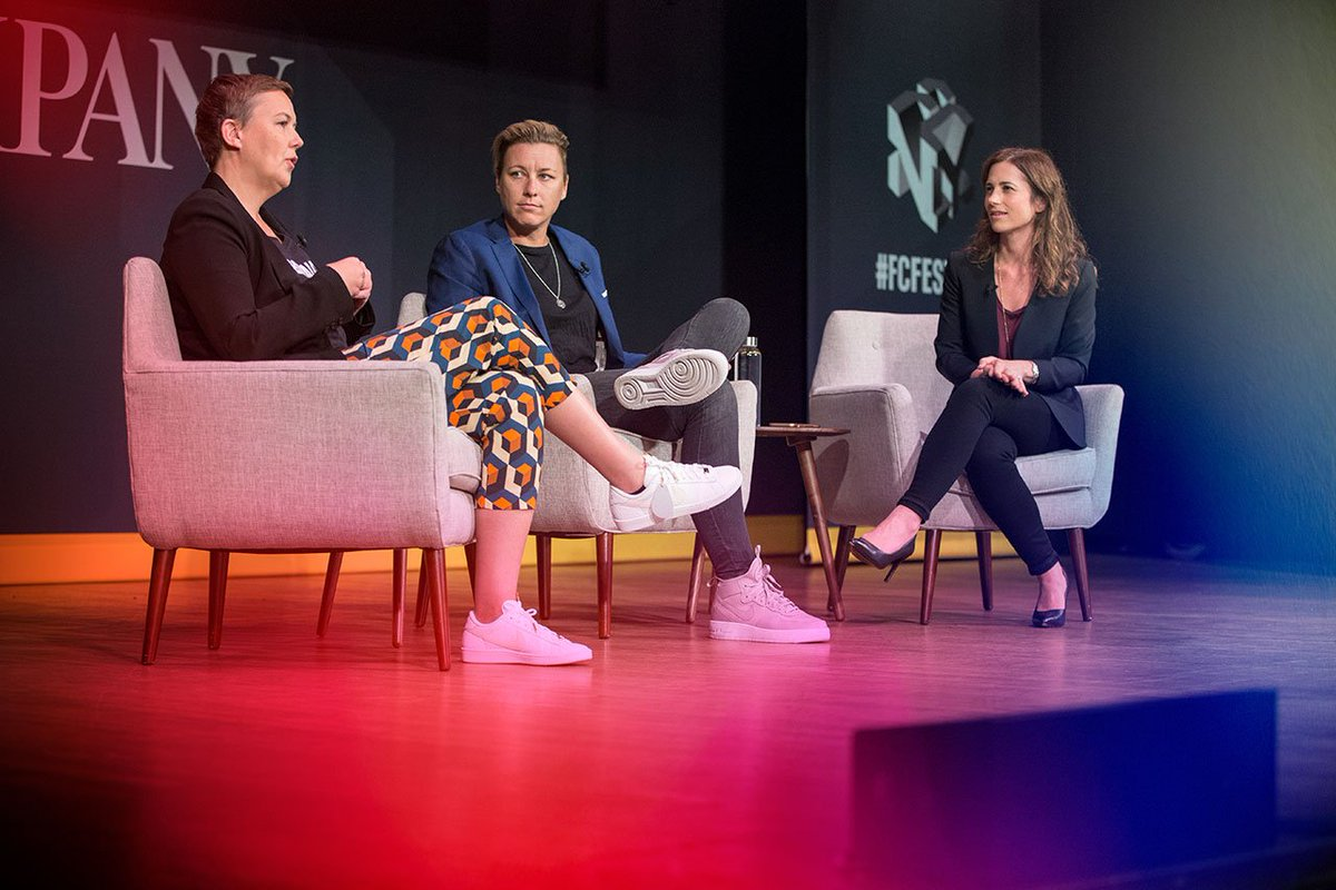 A brand that doesn't stand for something is no longer a brand worth working for. - @hjones_nike #FCFestival