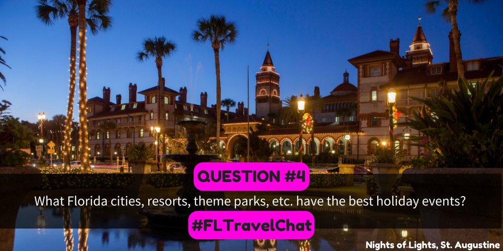 Q4: What Florida cities, resorts, theme...