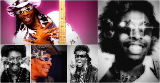 Happy Birthday to Bootsy Collins (born October 26, 1951)