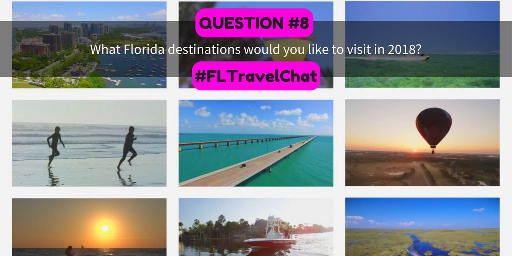 Q8: What Florida destinations would you...