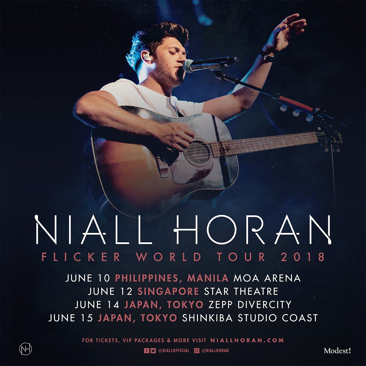 Philippines , Japan and Singapore , I am bringing my Flicker world Tour to you next year !