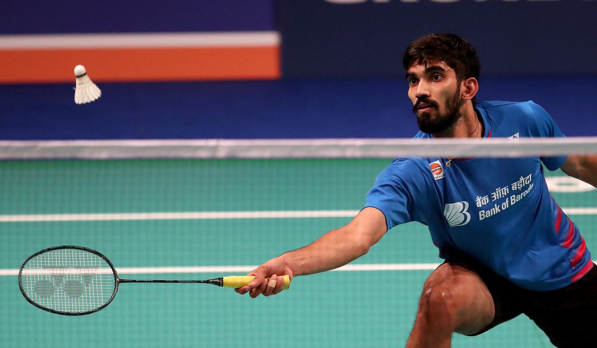 "Kidambi Srikanth on Twitter ""Happy to be through to the next"
