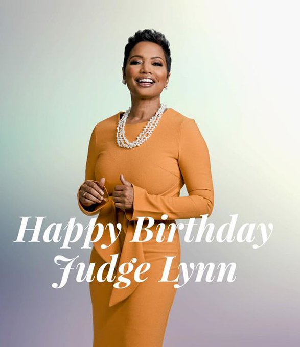 "Happy Birthday to Judge Lynn Toler of ""Divorce..."