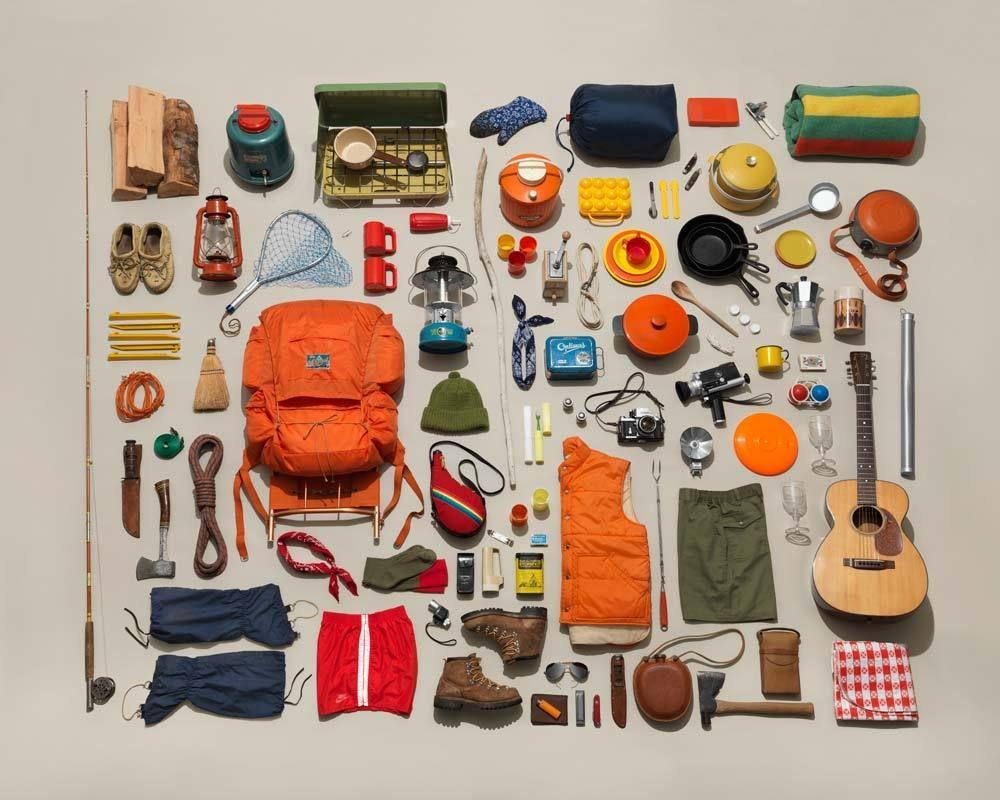 Retro Camping Images