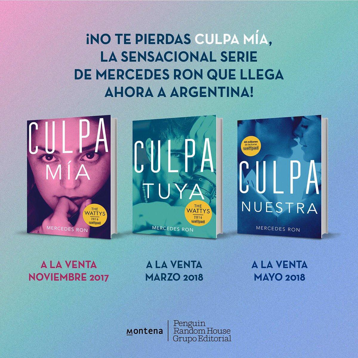 Mercedes Ron Twitterissä Culpa Mía Llega A Argentina