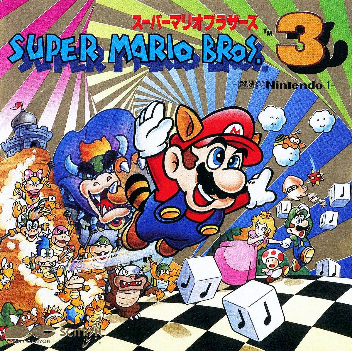 Cool Box Art On Twitter Super Mario Bros 3 G S M Nintendo 1