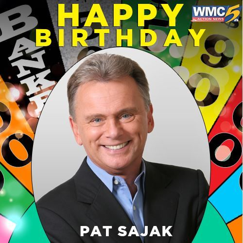 We\re wishing a very happy birthday to the great Pat Sajak!