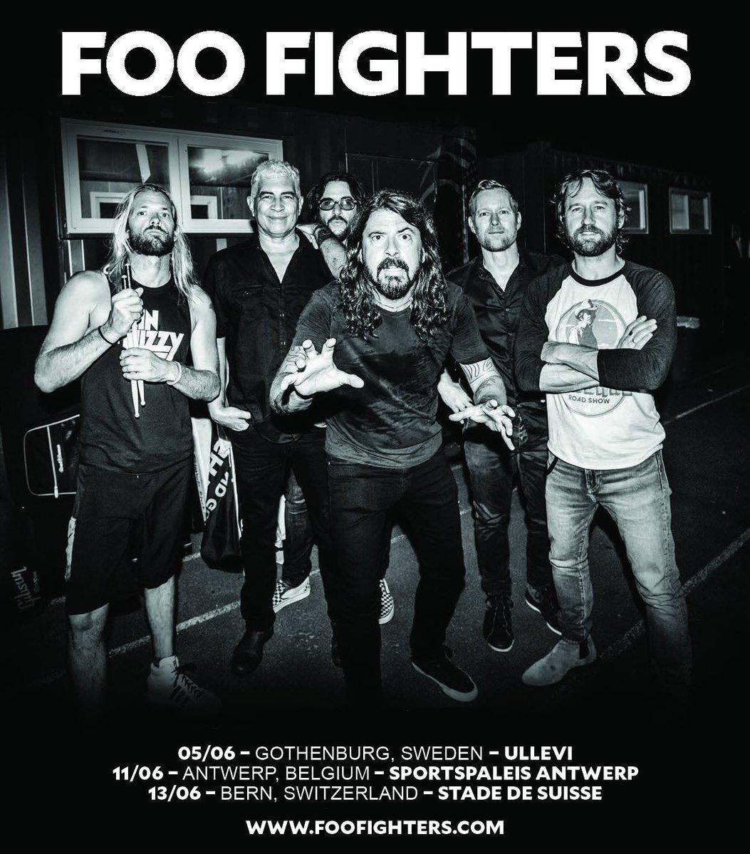 Foo Fighter Tour  Uk