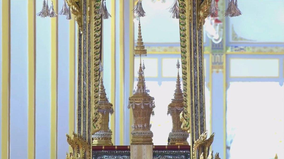 urnes reliques roi thailande
