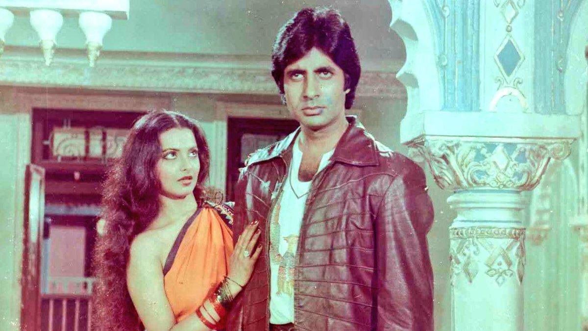 Image result for Amitabh Bachchan, Rekha Muqaddar Ka Sikandar