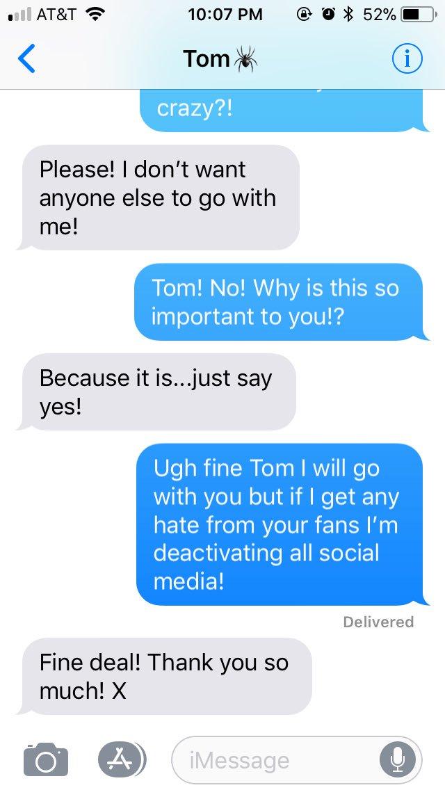 Tom Holland Imagine on Twitter: