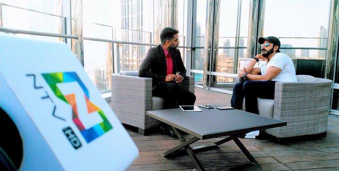 Thanks a lot for the Lovely Supoort @NTV dubai ..Lovely Interview..respect alwys https://t.co/mpHn1ZLHiM