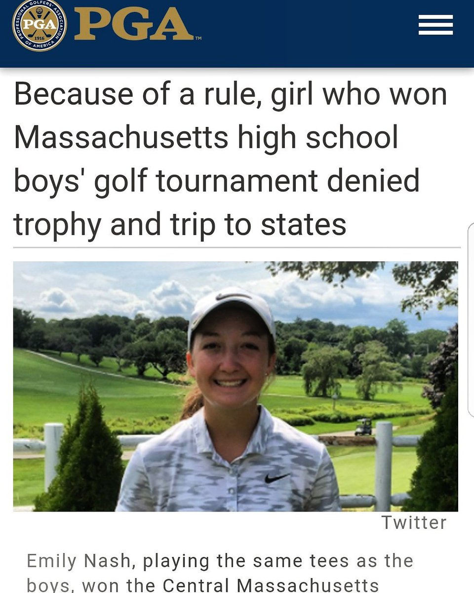 Congrats to Emily Nash on her BIG Win!????????Keep following your dreams and nothing can stop you!!! ☺????⛳ #GirlPower https://t.co/GIzf65adZ7