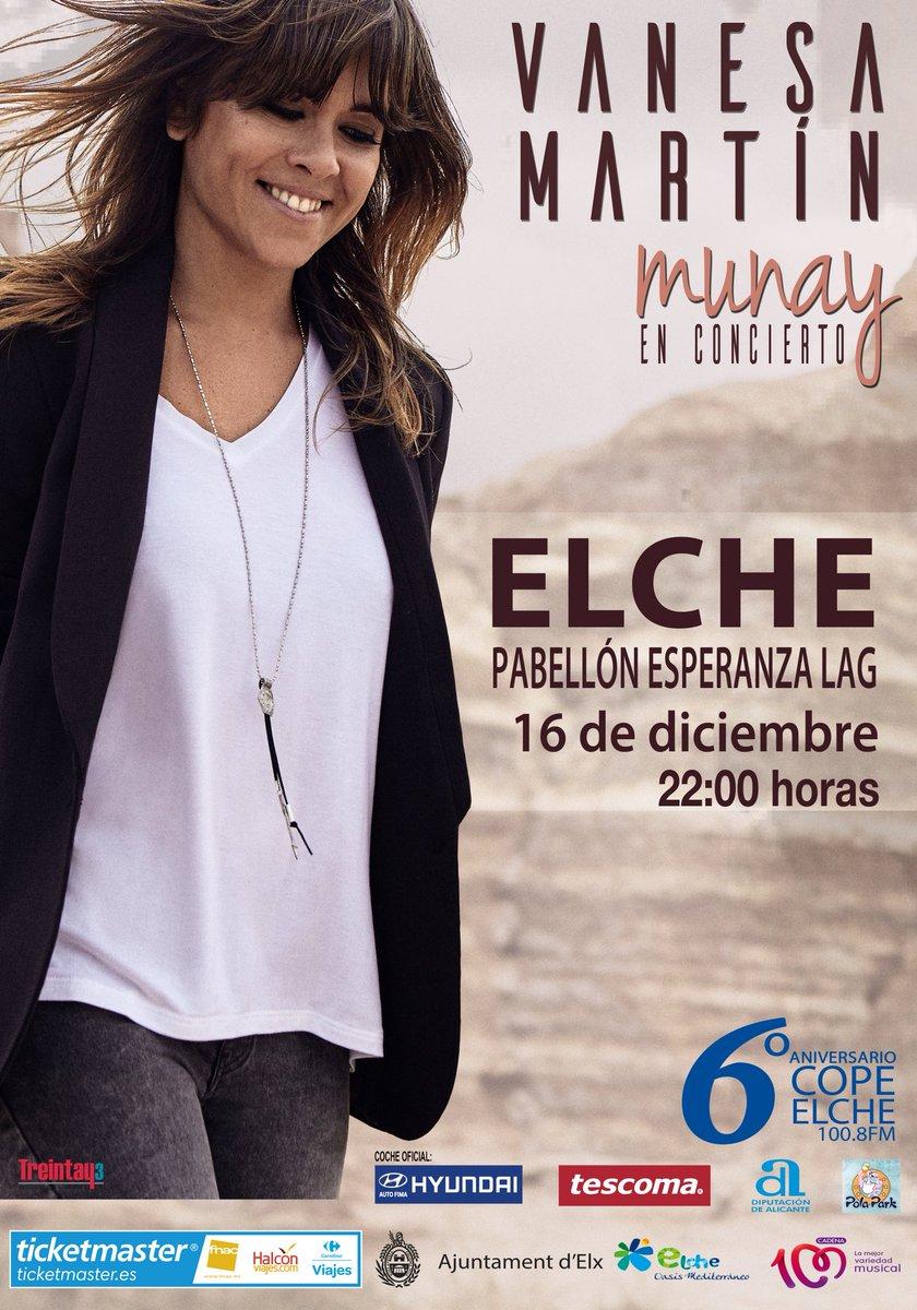 Vanesa Martín, concierto, Elche