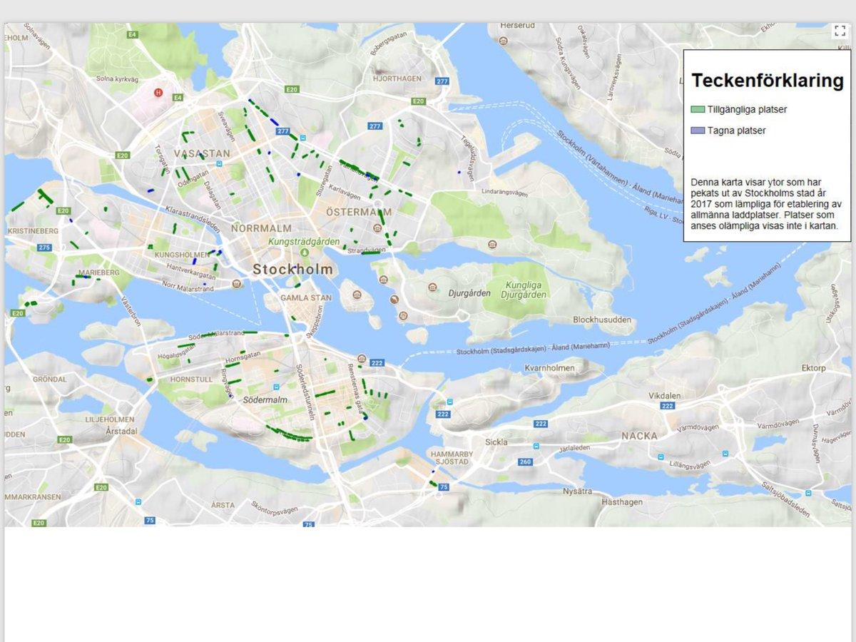 Mp Stockholms Stad Di Twitter Denna Karta Visar Ytor Som Har