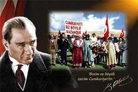 Biz herşeyimizi  CUMHURIYET' e borçluyuz Yaşasın Cumhuriyet Ne Mutlu türküm diyene   #CumhuriyeteBorçluyuz