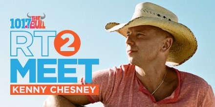 1017 the bull on twitter rt 2 enter to meet kenny chesney 200 am 27 oct 2017 from medford ma m4hsunfo