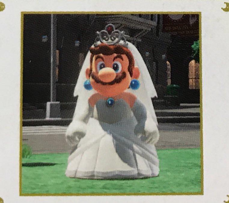 任天堂にリンクに次ぐ新たな女装男子誕生!マリオのドレス姿がヤバイwww