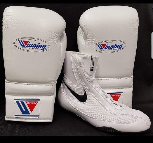 39cb268a9e8b Another Friday Fight Night Combination with these Nike Machomai   Winning  Lace Gloves  KOSportsUK
