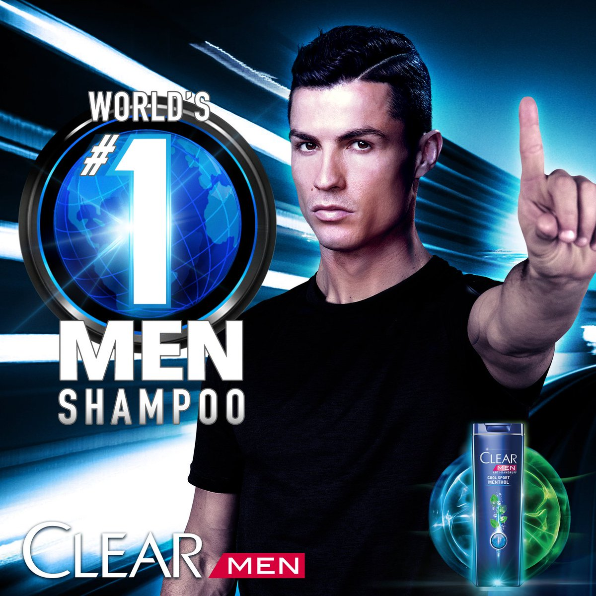 Cristiano Ronaldo On Twitter Clear Men Worlds 1 Shampoo