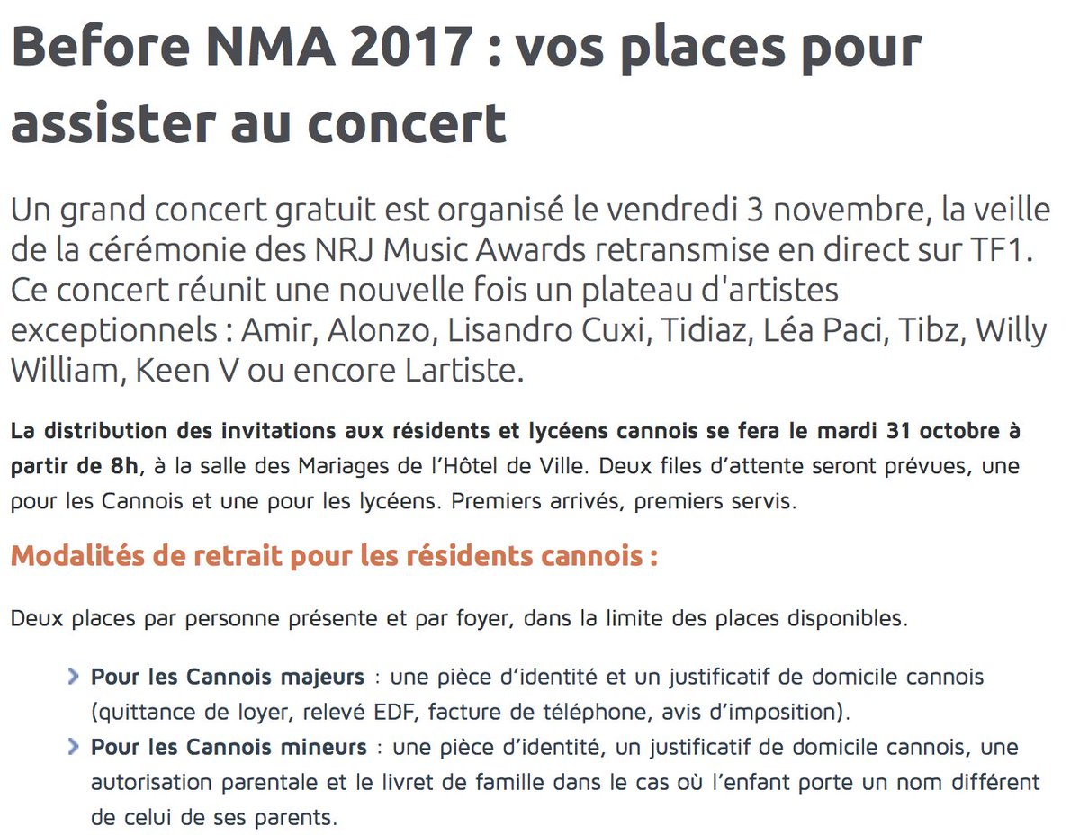 Cannes On Twitter Residents Lyceens Cannois Vos Places Pour Le