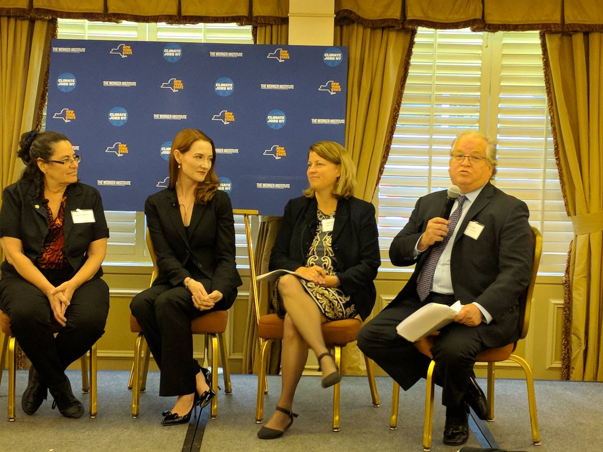 test Twitter Media - Combating Climate Change panel w/ @32BJSEIU, @aceNYstate, @AmericanSolarHQ, @IBEW, @JillEnergy @NYPAenergy at #ClimateJobsNow Summit https://t.co/hJeuZekWic