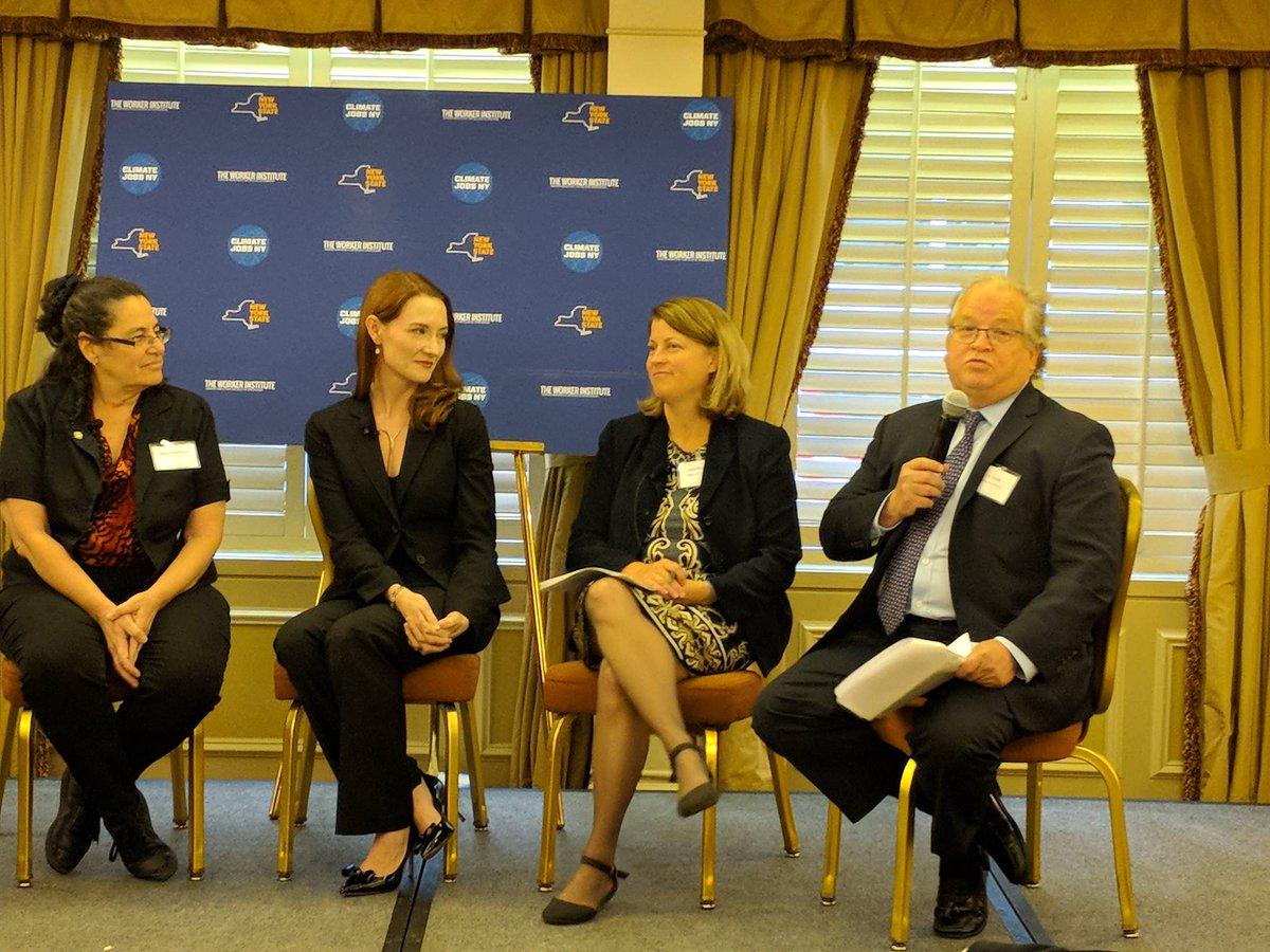 test Twitter Media - Combating Climate Change panel w/ @32BJSEIU, @aceNYstate, @AmericanSolarHQ, @IBEW, @JillEnergy @NYPAenergy at #ClimateJobsNow Summit https://t.co/hJeuZekWic