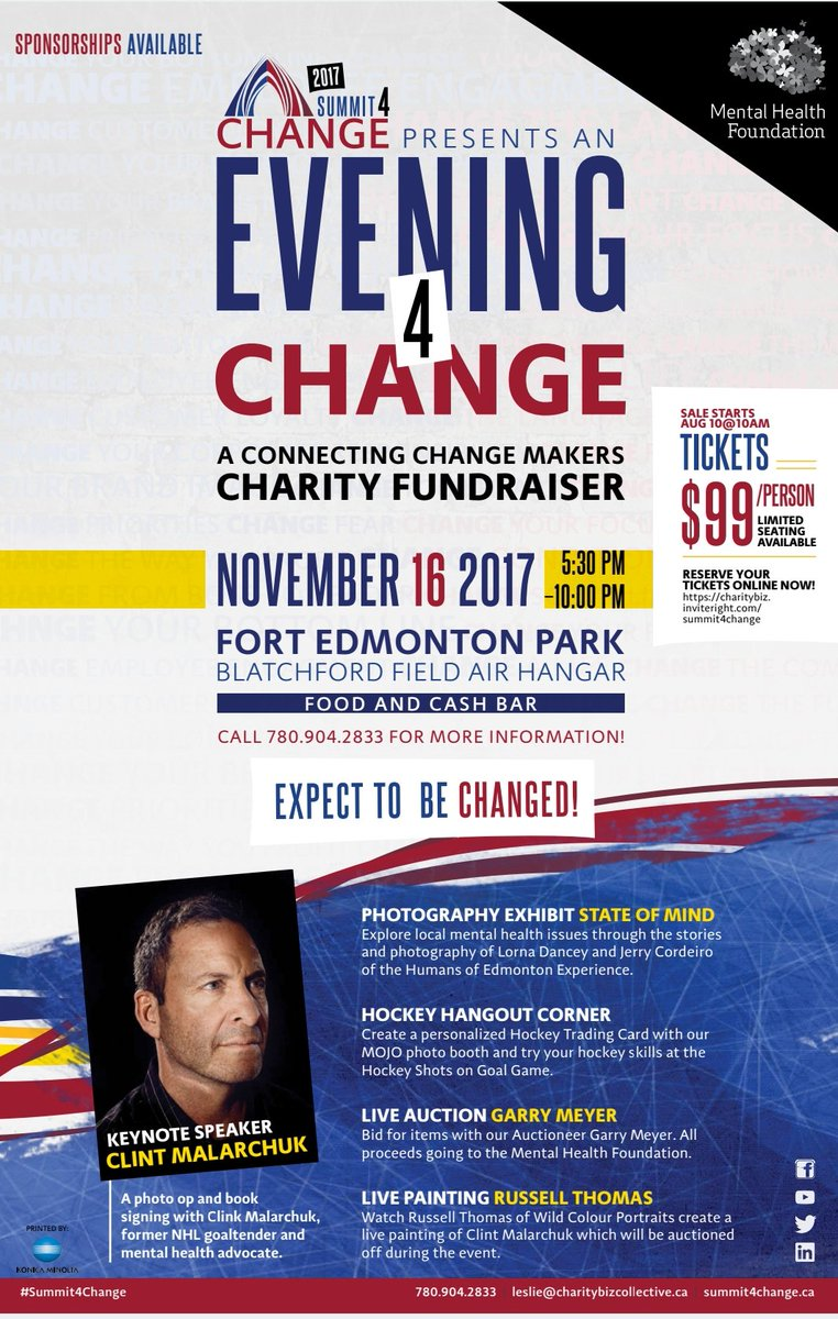 Thanks so much @EdmontonOilers Alumni Association for letting me speak at todays breakfast, about #Summit4Change. #LetsGoOilers