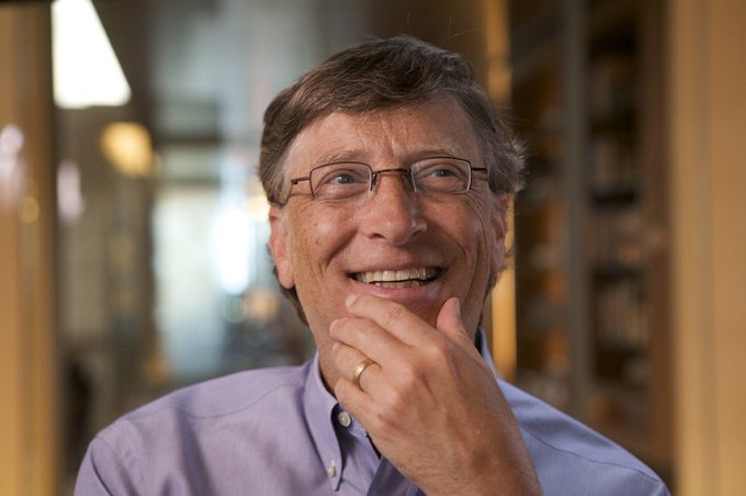 Gates scored a 1590/1600 on his SATs? Happy Birthday to a sheer genius!