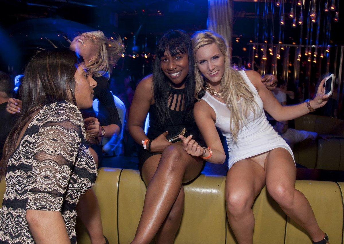Club girls upskirt