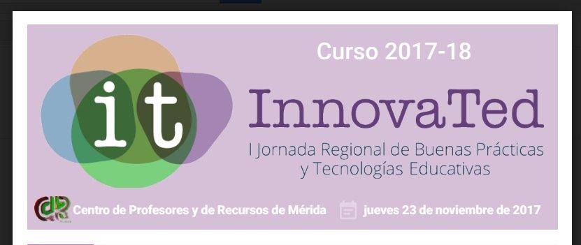 1ª Jornada Regional de Buenas Prácticas y Tecnologías Educativas