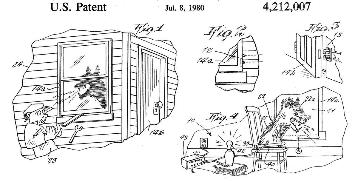 """When the """"Beware of Dog"""" sign was just too basic… woof. #TBT #CreepyIP"""